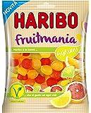 Haribo fruitmania Lemon, osos, Gominolas de Fruta, Bolsa, 175g