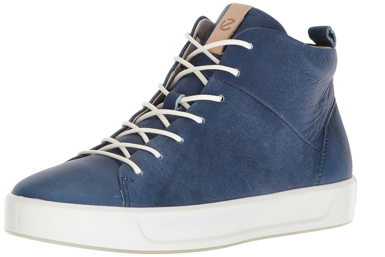 ECCO Women's Soft 8 High-Top Fashion Sneaker B074CV9S59 42 Medium EU (11-11.5 US) Indigo