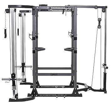 Suprfit Rango Rack de musculación, jaula de musculación, estación ...