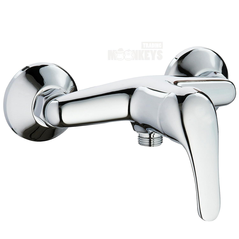 Duscharmatur Brausearmatur Einhebelmischer Brausemischer Chrom Bad