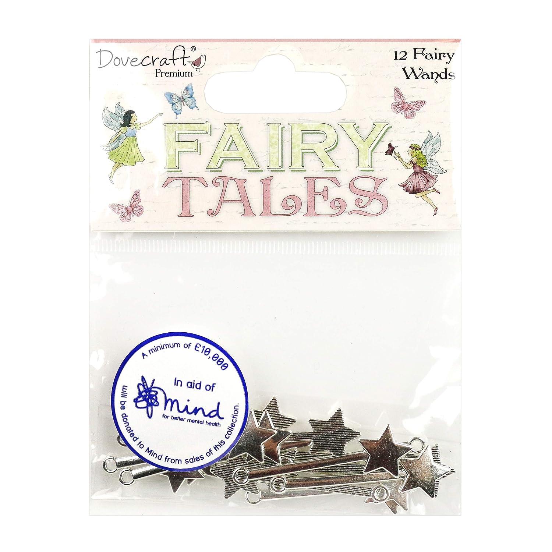 Multicolour Dovecraft Premium Tales Metal Fairy Wands 1