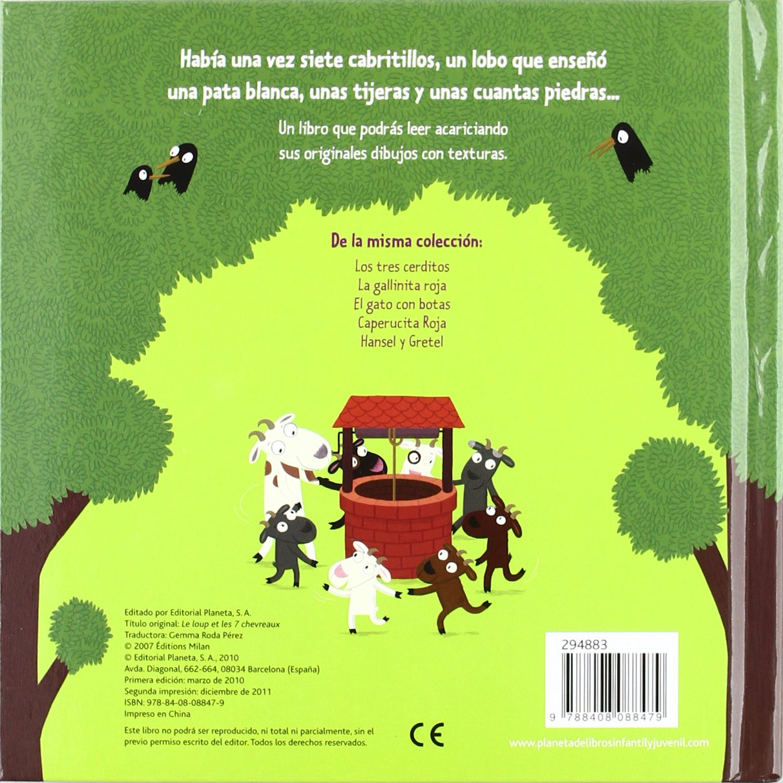 El lobo y los 7 cabritillos: Nathalie Choux: 9788408088479: Amazon.com: Books