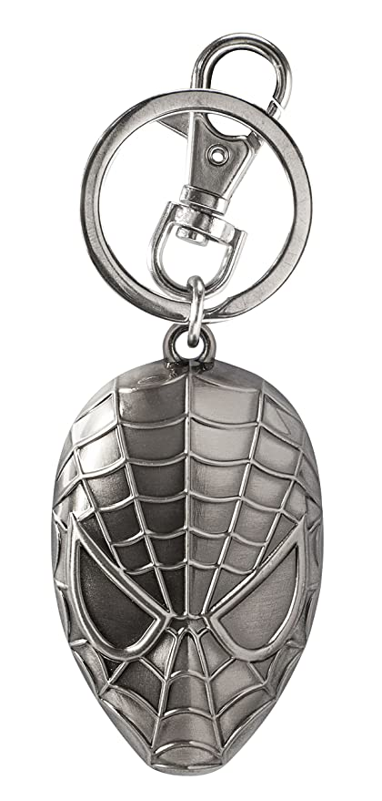 Monogram- Marvel Llavero Cabeza Spiderman, (68034)