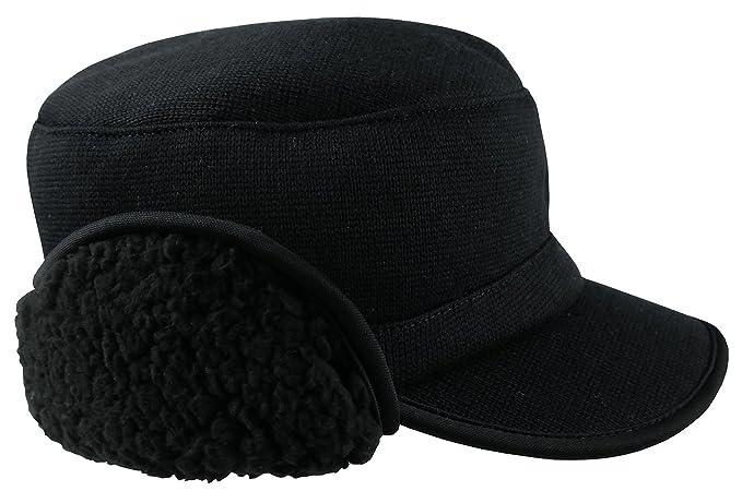 08020f50b68 Amazon.com  N Ice Caps Winter Ballcap Fleece Lining and Full Ear ...