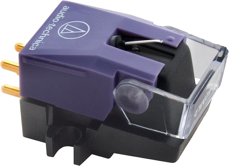 Audio-Technica AT440MLB Cartucho de DJ y aguja: Amazon.es: Electrónica