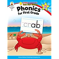 Carson-Dellosa 104354 Phonics for First Grade, Grade 1