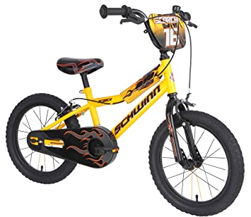 01771b8fbab Schwinn Boys Scorch Kids Bike, Yellow/Black, 16
