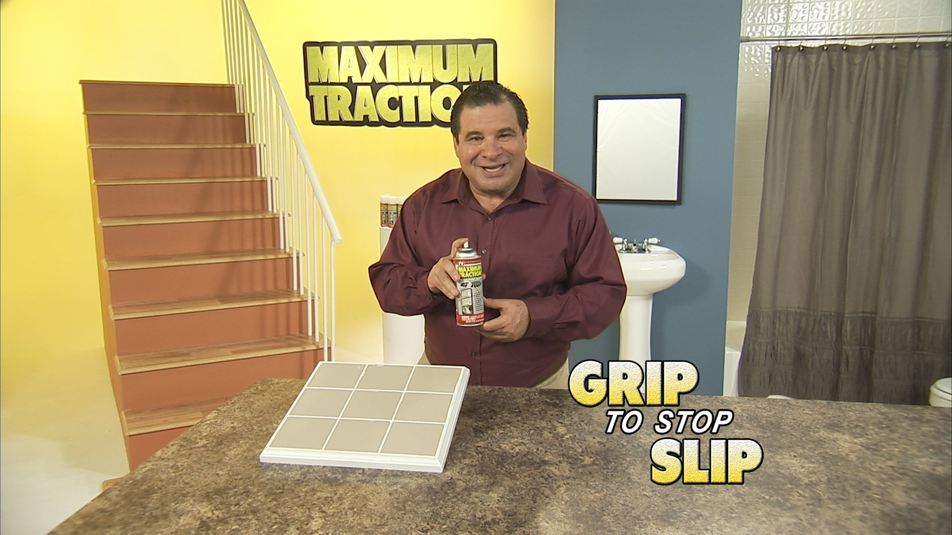Maximum Traction Glow Anti-Slip Coating Spray for Wet or Slick Surfaces(Glows in the Dark!)