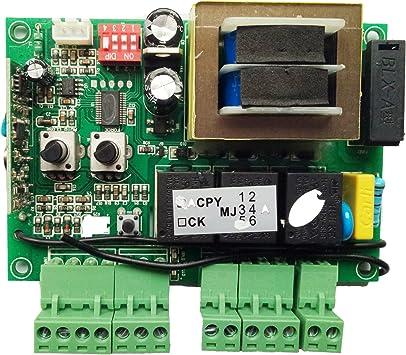 TOPENS PCB - Placa de control de circuito impreso para abridor de puerta corredera CK700: Amazon.es: Bricolaje y herramientas