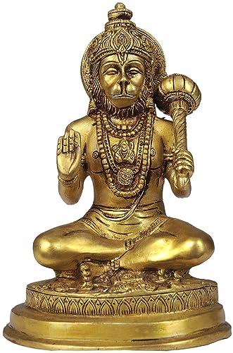 Lord Hanuman – Brass Statue