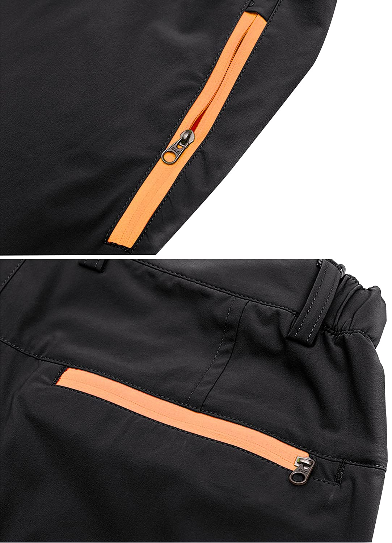 LOHASCASA Mens Outdoor Sports Quick Dry Elastic Waist Work Shorts