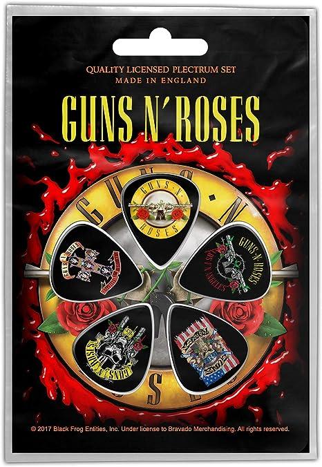 GunsNRoses 5 Plectrum Pack (Rz) : Amazon.es: Instrumentos musicales