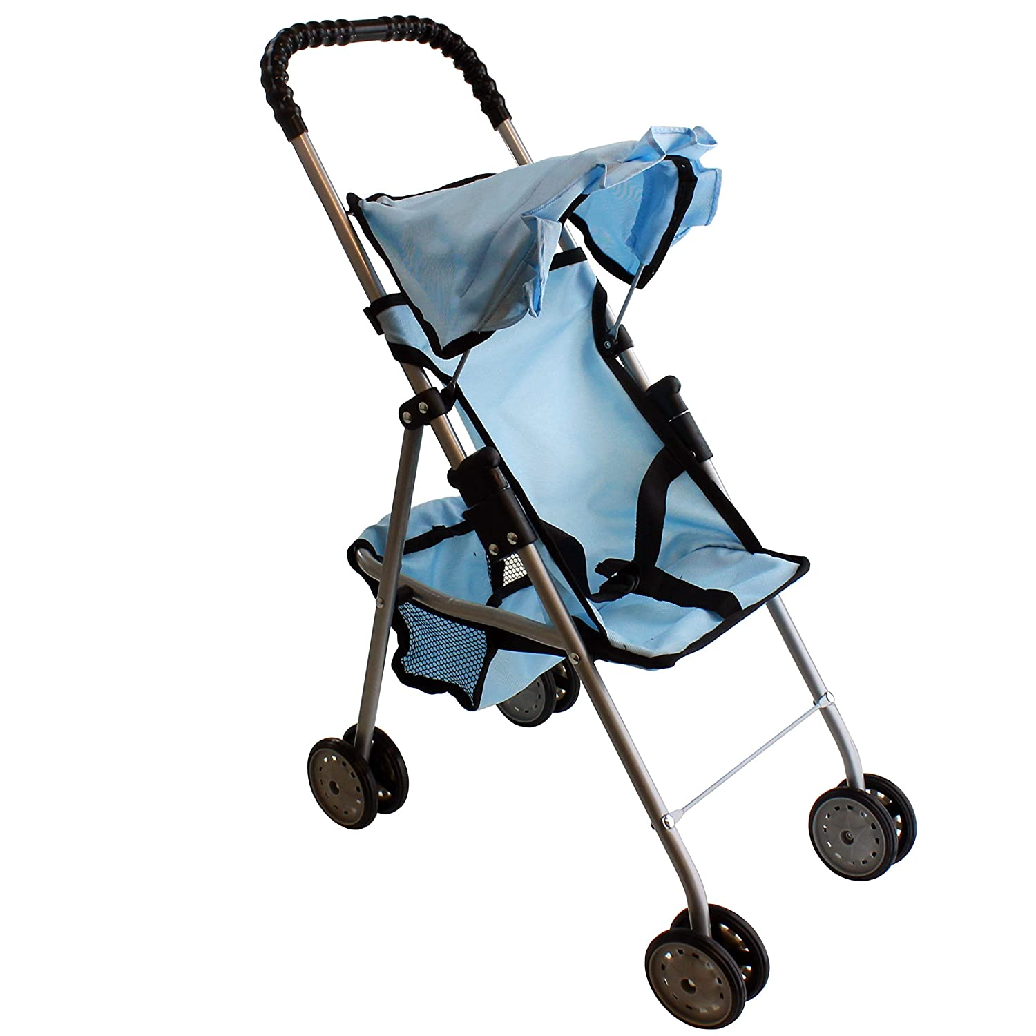 Mommy & Me My first Doll Stroller Sky Blue 9318