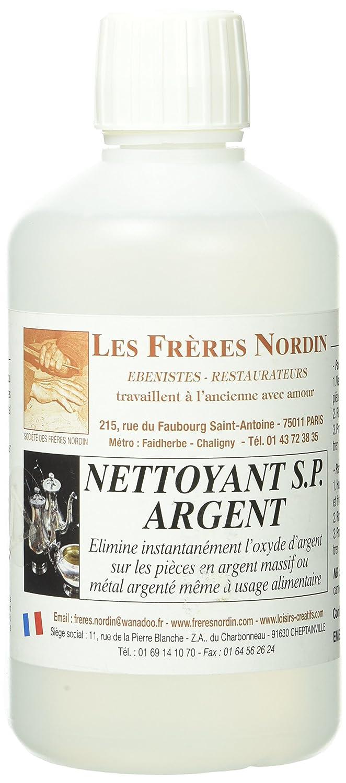 Les Frè res Nordin 154530 Nettoyant SP Argent Les frères Nordin
