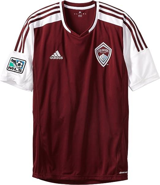 MLS Colorado Rapids réplica de la Camiseta de Manga Corta - 7682ASR5AZNCOD, Colorado Rapids: Amazon.es: Deportes y aire libre