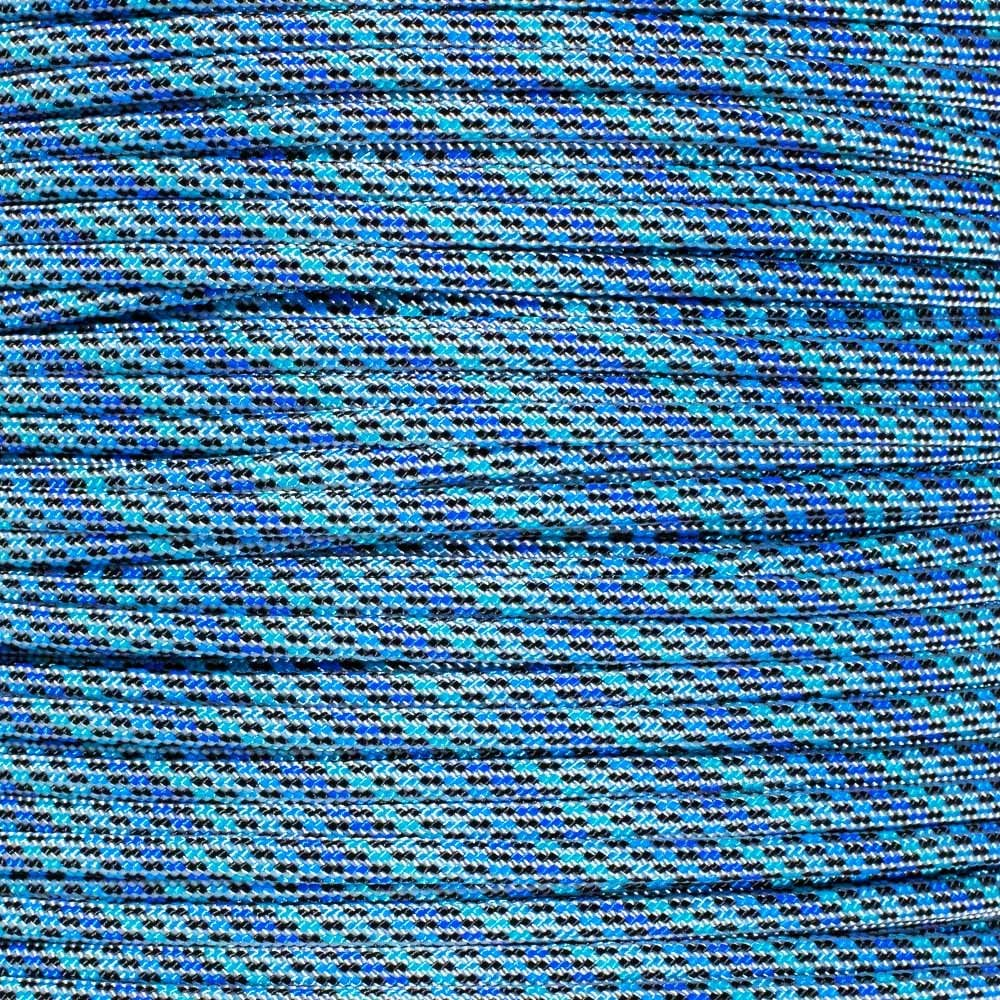 PARACORD PLANET 10 20 25 50 100 Foot Hanks and 250 1000 Foot Spools of Parachute 550 Cord Type III 7 Strand Paracord (Typhoon 10 Feet)