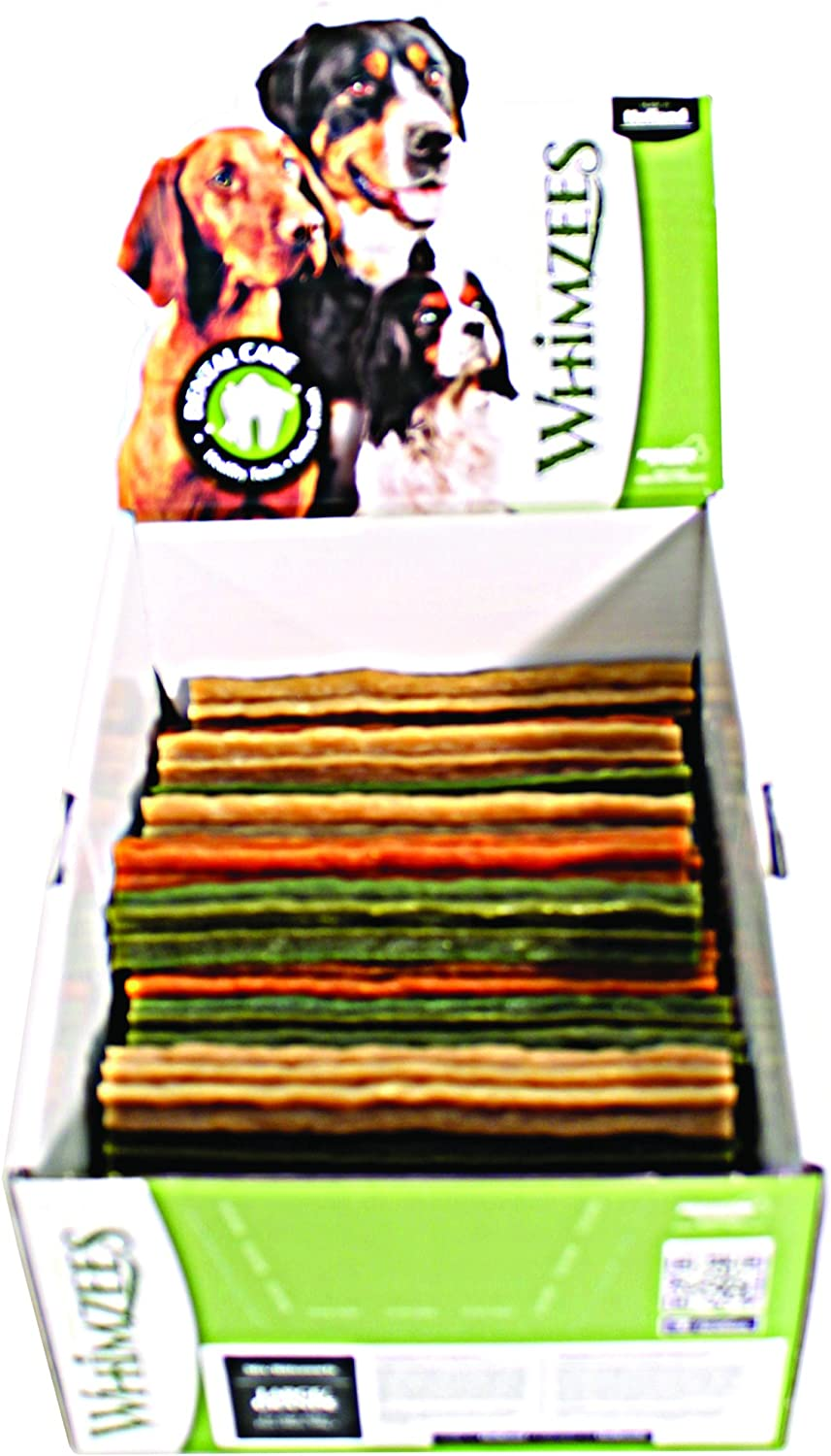 Paragon Whimzees Display Box Stix Dental Treat for Dogs