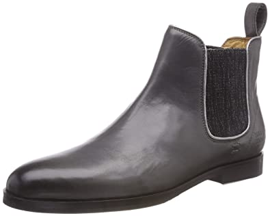 84880082a408 Melvin   Hamilton Damen Susan 10 Chelsea Boots, Grau (Salerno Stone +  Binding