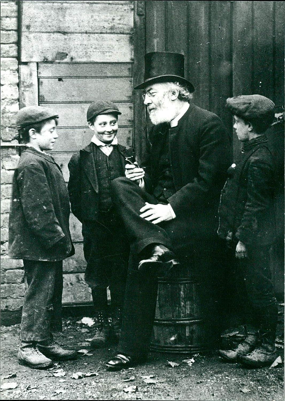Vintage Photo of Thomas Bowman Stephenson with Boys.