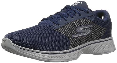 52b87af50539 Skechers Men s Go Walk 4 Low-Top Sneakers (EU)  Amazon.co.uk  Shoes ...