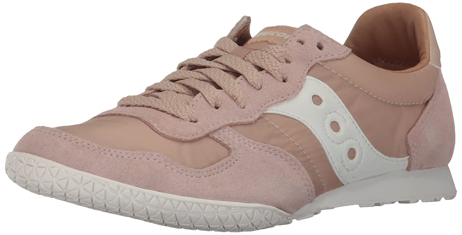 Saucony Originals Women's Bullet Sneaker B01N2HBZR9 8 B(M) US|Tan Cream