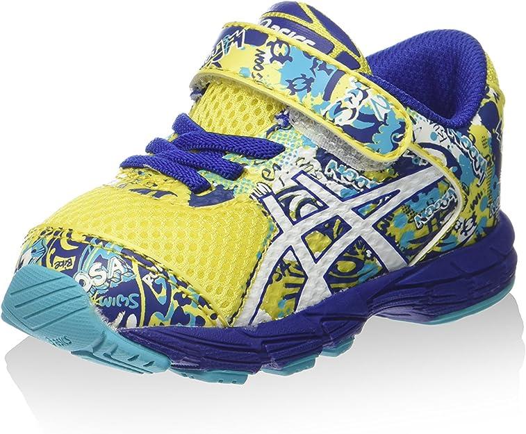 Asics Zapatillas Deportivas Noosa Tri 11 TS Amarillo/Azul EU 22.5 (US K6): Amazon.es: Zapatos y complementos