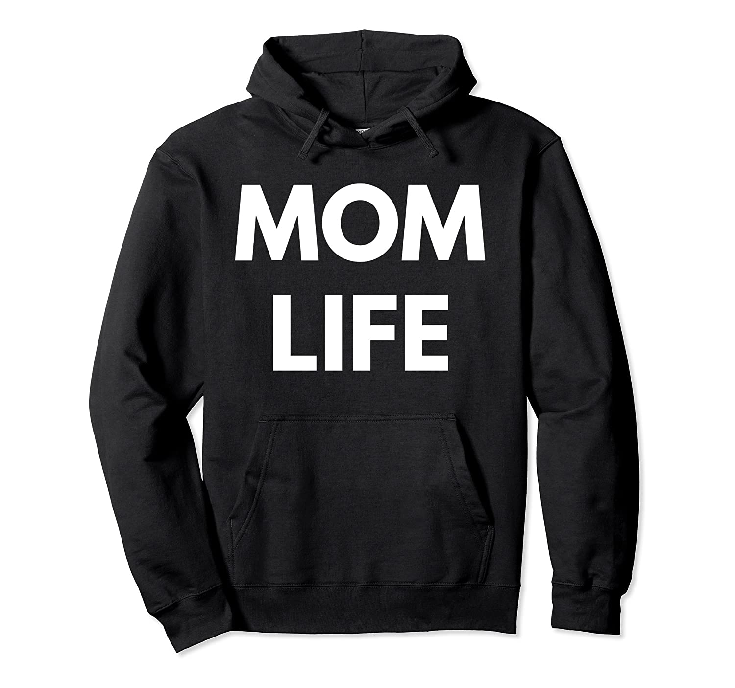 Mom Life Pullover Hoodie-TH