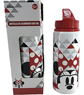 Botella Aluminio Caja Minnie Disney 600ml