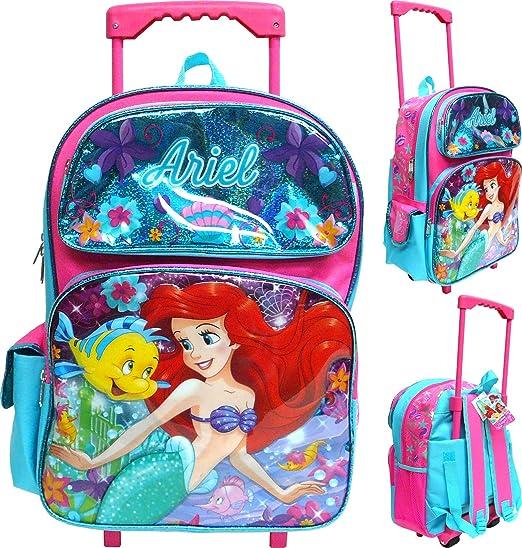 Toddler Girls/' Disney Ariel Swim Barrel Backpack Little Mermaid