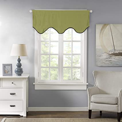 hversailtex thermal insulated curtain valances kitchen bath laundry bedroom living - Valances For Bedroom