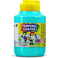 Tempera Guache 250 ml, Acrilex, 020250503, Azul Celeste