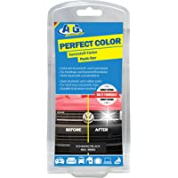 ATG Kunststoff-Färber Perfect-Color schwarz verleiht Stoßstangen, Zierleisten neues Leben und bringt den Glanz zurück – funktioniert bei jedem Auto & Motorrad, ATG047