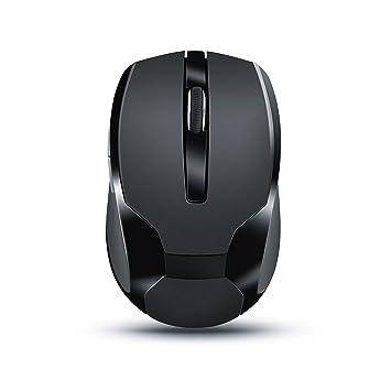 CSL - Ratón inalámbrico para portátil | Wireless Mouse | USB Nano Receptor 2,4GHz | óptico | diseño ergonómico Ordenador Portátil/PC / Tableta/MacBook ...