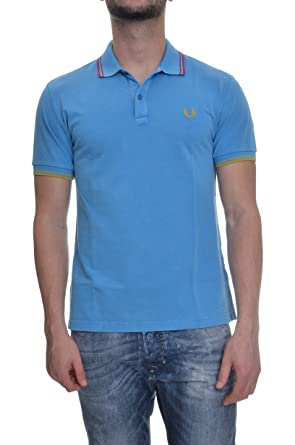 Polo Para Hombre Camiseta Maillot Men Fred Perry Made Italy V0052 ...