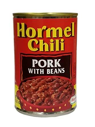amazon ホーメル チリ ポークウィズビーンズ 425g hormel chili 肉