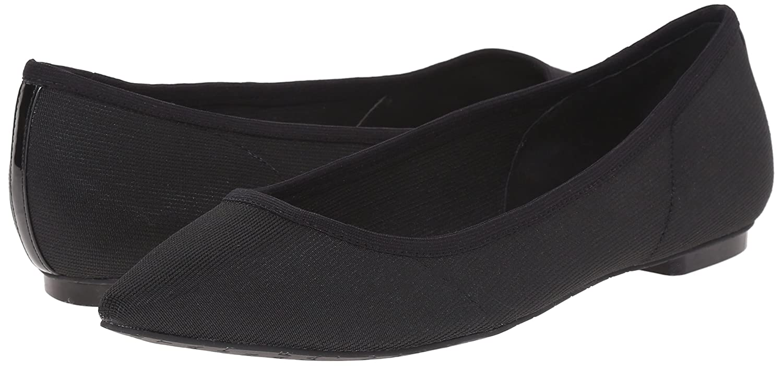 Tahari Women's TA-Edie Pointed Toe Flat B01G5MJ9IK 5.5 B(M) US|Black