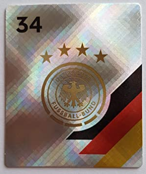 Rewe DFB EM 2020 Sammelkarten Normal Glitzer