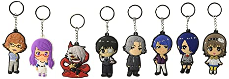 OliaDesign Cosplay Tokyo Ghoul Anime Caracteres 8 pcs ...