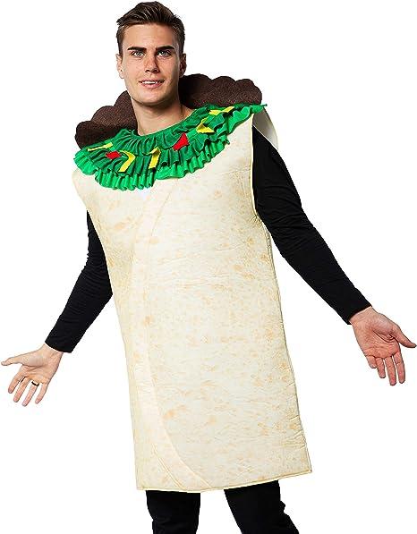 EraSpooky Disfraz de Taco de Comida Mexicana para Adultos ...