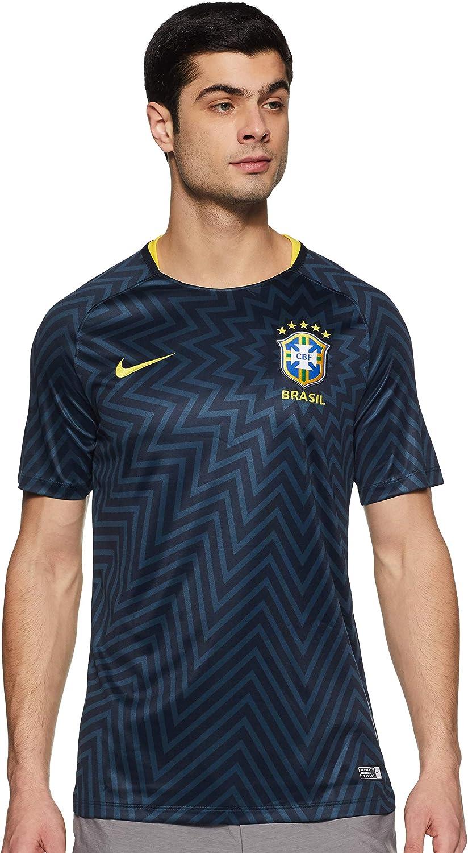 Nike Mens CBF Brasil M NK Dry SQD TOP SS GX 2 893353
