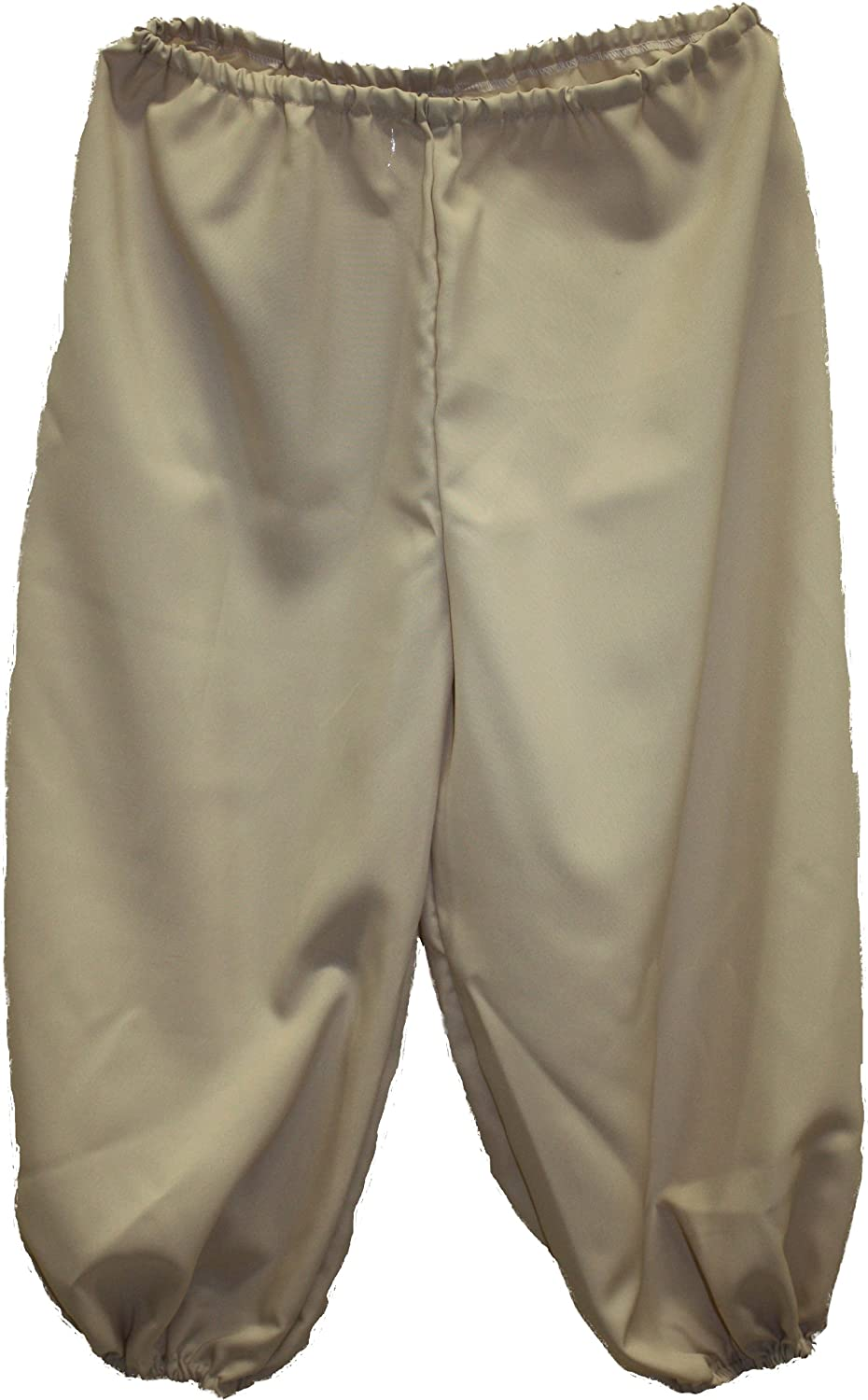 Deluxe Adult Costumes - Men's tan pirate knickers, pirate breeches, pirate pants, pirate trousers by Alexanders Costumes