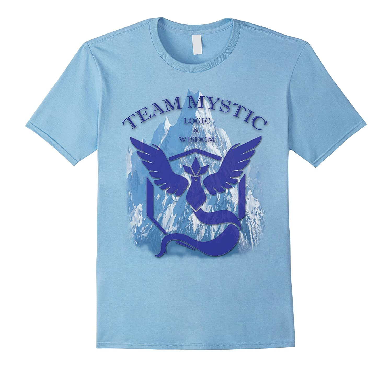 Team Mystic T-shirt 2016 Articuno Logic and Wisdom-RT