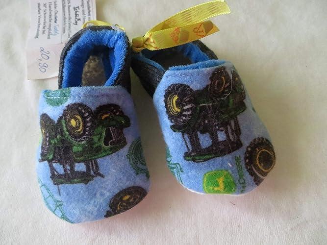 Puschen Schuhe Traktor, Größe 17, Kinder Hausschuhe: Amazon