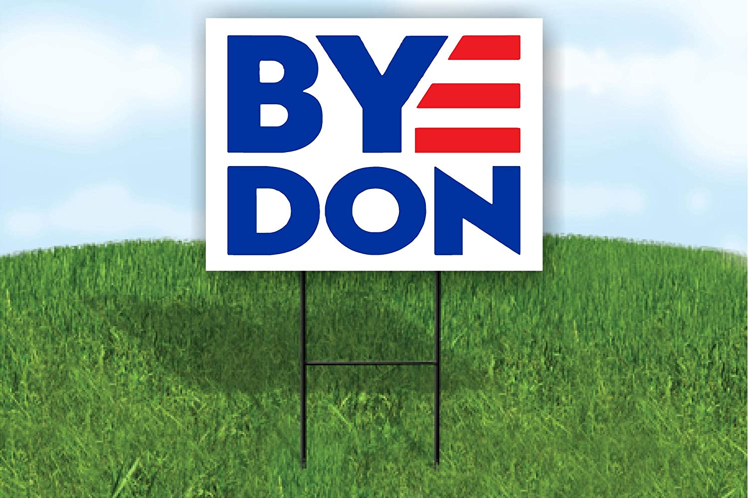 Amazon Com Work House Signs Byedon 2020 For President Joe Biden Yard Sign Road Sign With Stand Garden Outdoor