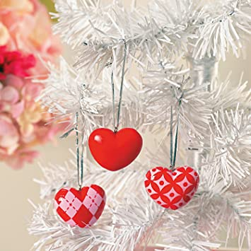 Amazon Com Valentine Tree Ornaments Home Valentine S Day Decor