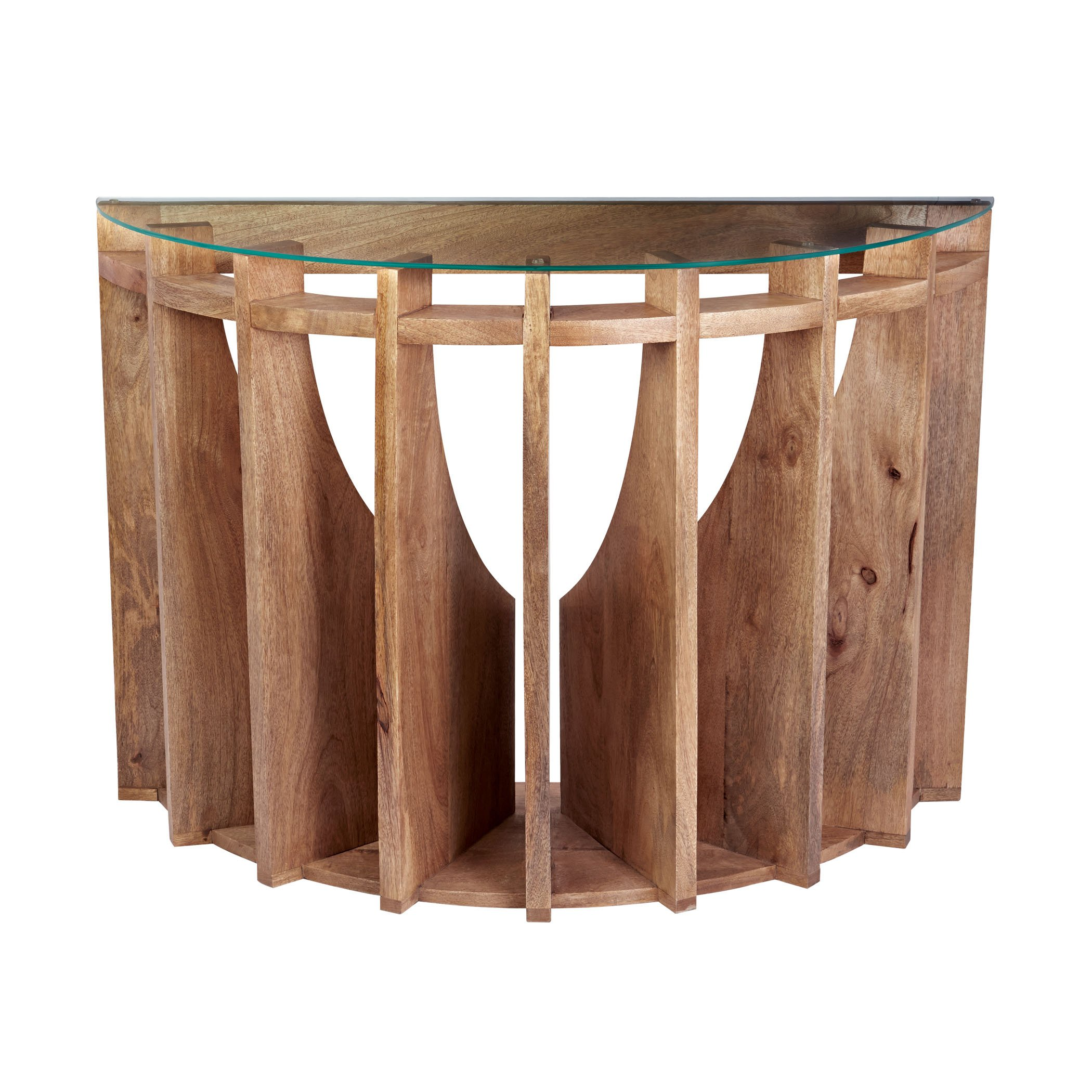 Dimond Home 985-039 Wooden Sundial Console Table, 42'' x 16'' x 30''