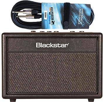 Black Star ID Core Beam Bluetooth Guitarra y amplificador de bajos Combo + Keepdrum Guitarra Cable