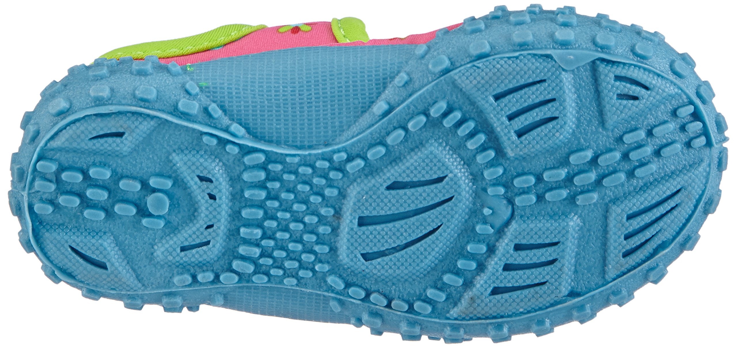 Playshoes Girl's UV Protection Flower Collection Aqua Swimming/Beach Shoes (4.5 M US Toddler) by Playshoes (Image #3)