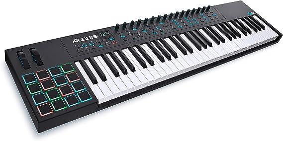 Alesis VI61 61-Key USB MIDI Keyboard Controller with 16 Pads