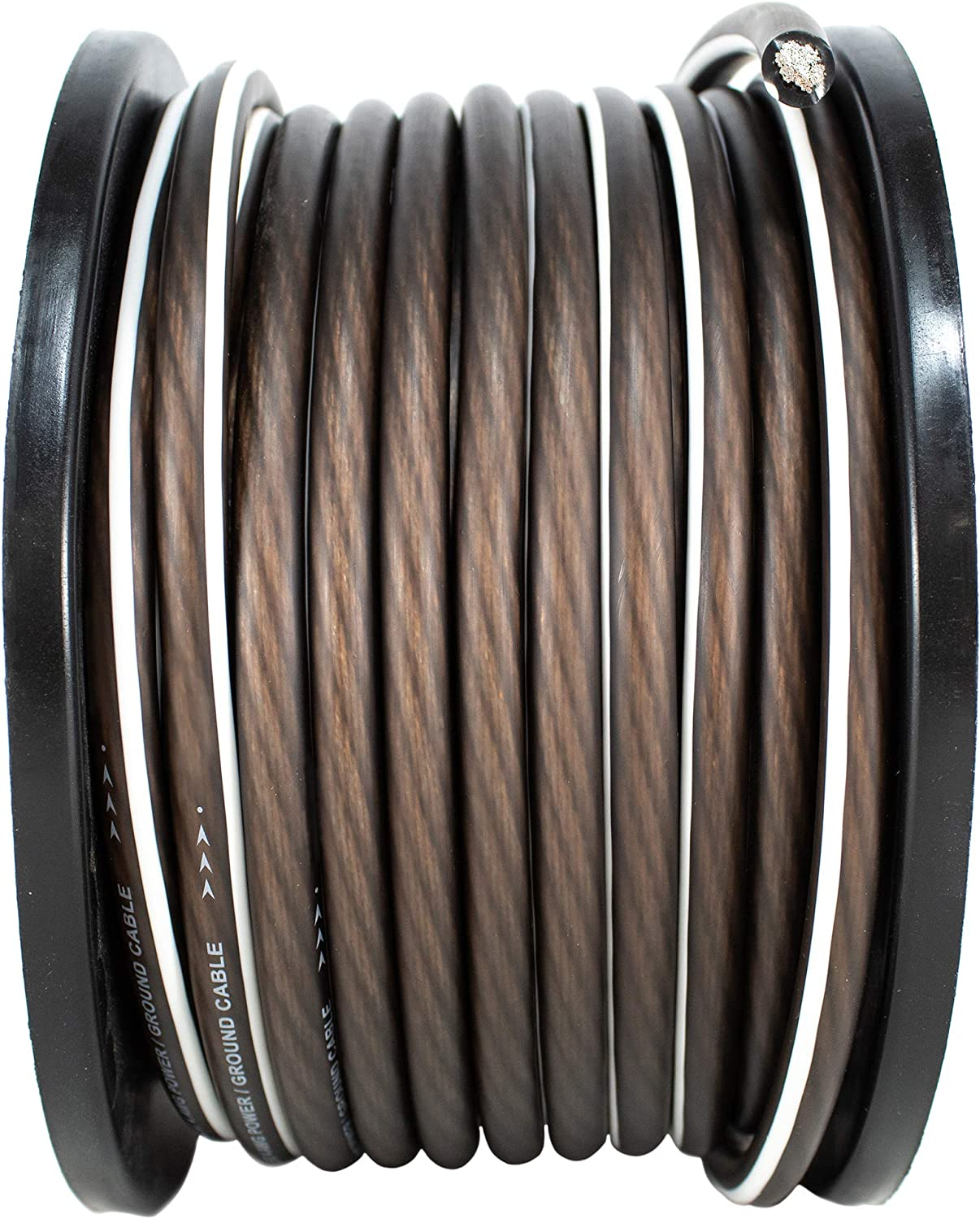 4 AWG 100FT Black Power Ground Wire Cable Copper Mix True AWG GA 81QUd8cpizLSL1500_